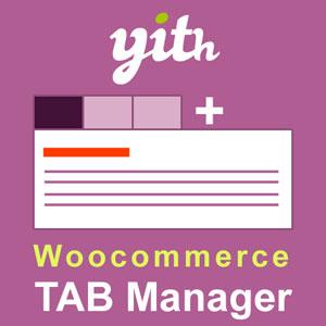 افزونه افزودن تب سفارشی در ووکامرس Yith woocommerce Tab Manager