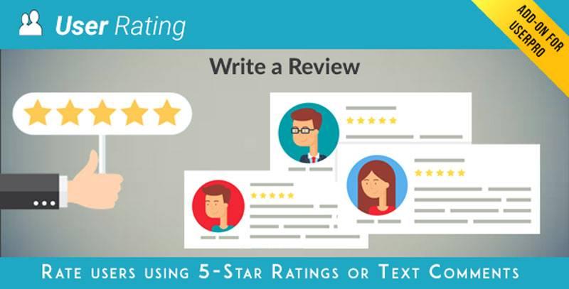 افزودنی اعتبار و نقد و بررسی UserProO Rating/Review