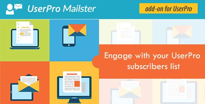 افزودنی یکپارچگی با مای میل MyMail Plugin For UserPro